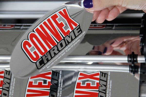 convex chrome