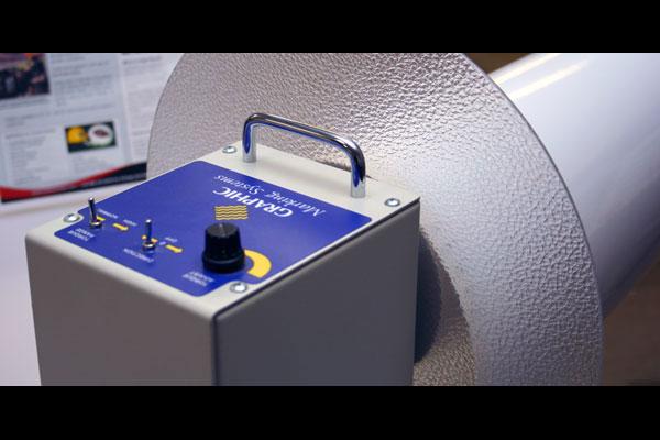 Graphic Marking Systems Rewinder
